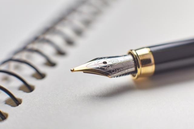 ペンとノート
