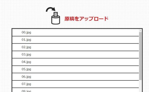 マガジンデビュー アップロード後の画面